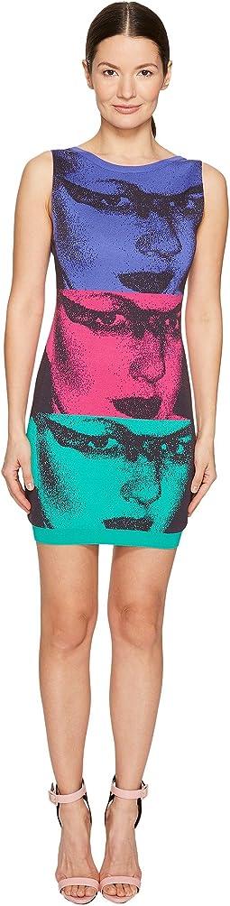 Mod Inspired Face Dress
