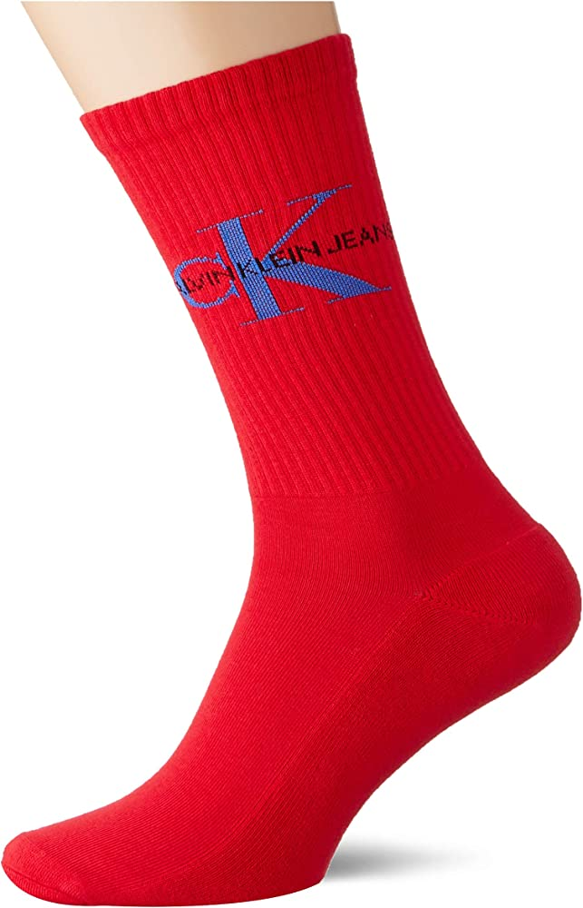 Calvin klein,calze, calzini per uomo,90% cotone, 10% elastan 100001816