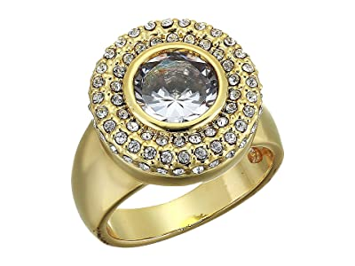Vince Camuto Cocktail Ring (Gold/Crystal) Ring