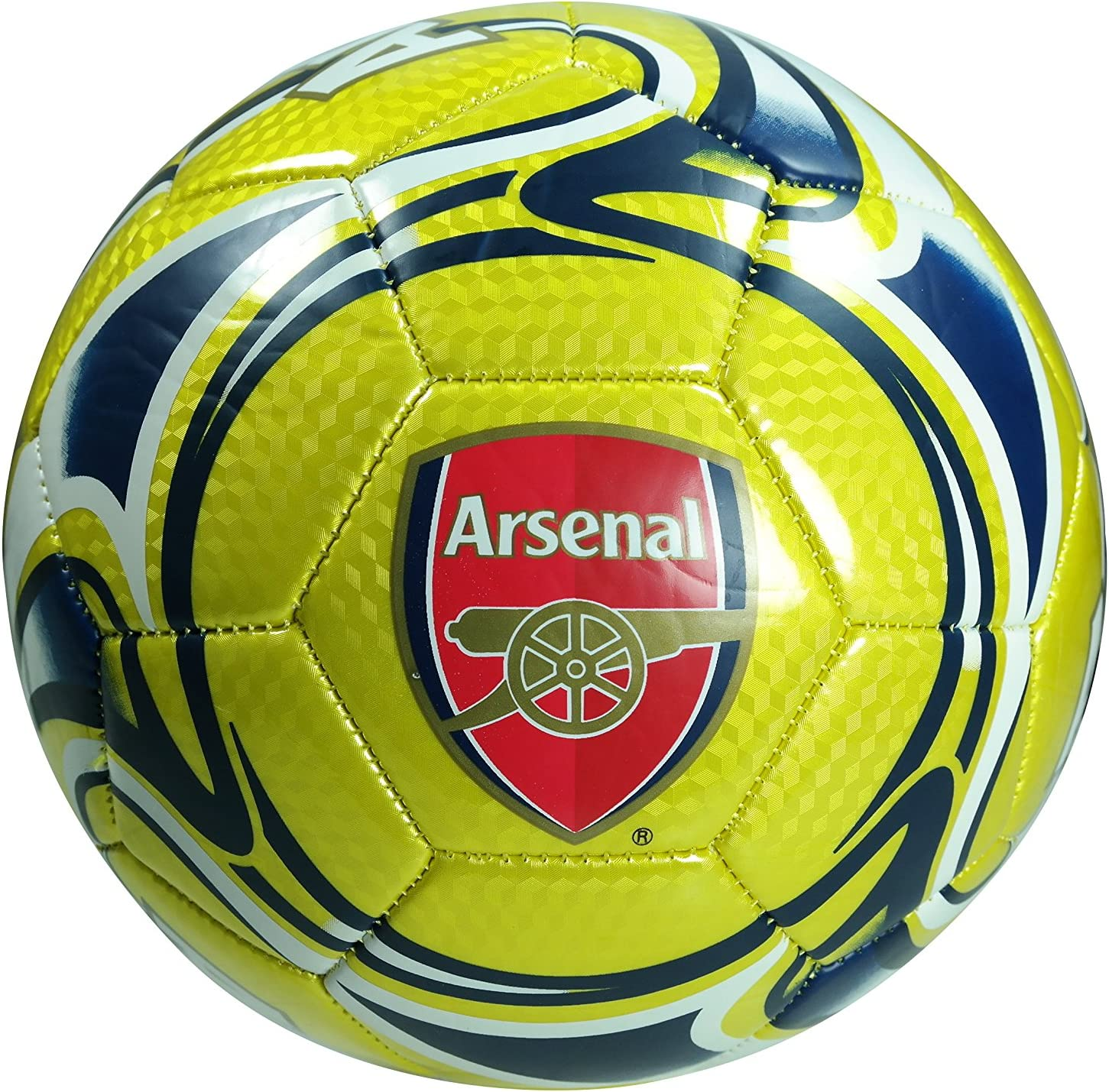Arsenal Super sale F.C. online shopping Authentic Official Licensed Size 5 Soccer Ball