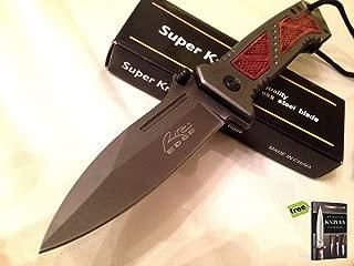 Wood Handle Barlow Knife Exclusive Rite Edge + Free eBook by Survival Steel