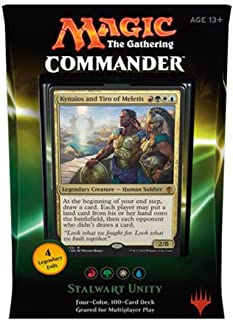 MtG Commander 2016 Stalwart Unity Deck