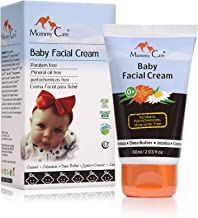 Baby Face Cream Mommy Care Organic Protective and Soothing Baby Facial Cream to Hydrate and moisturize Newborns Sensitive Skin. Helps Protect Against Dry Skin & The Effects of Weather & Wind. 2.03 OZ