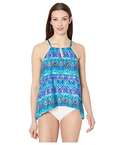 Miraclesuit Curacao Peephole Top (Blue) Women