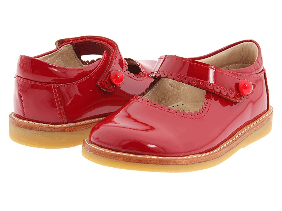 Elephantito Mary Jane FA11 (Infant/Toddler) (Red Patent) Girl