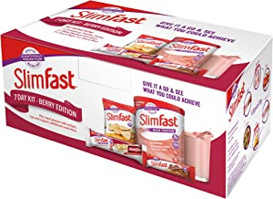 SlimFast 7 Day Kit Berry Edition Starter Pack Estimated Price : £ 16,22