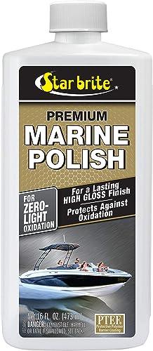 Star brite Premium Marine Polish - Zero to Light Oxidation, for a Long Lasting High Gloss Finish