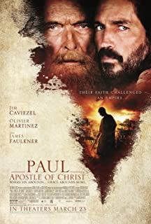 Kirbis Paul Apostle of Christ Movie Poster 18 x 28 Inches