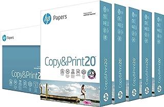 hp Printer Paper | 8.5 x 11 Paper | Copy &Print 20 lb | 5 Ream Case - 2500 Sheets| 92 Bright Made in USA - FSC Certified| ...