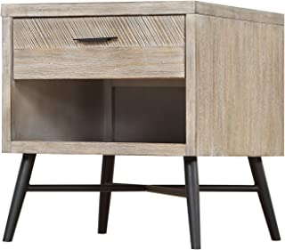 Artum Hill Laurel End Table, modern gray