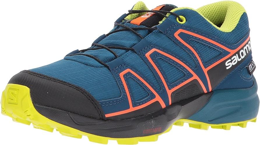 SALOMON Speedcross CSWP J J, Chaussures de Trail Mixte Enfant