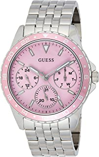 GUESS Womens Quartz Watch, Analog Display and Stainless Steel Strap - W1187L2