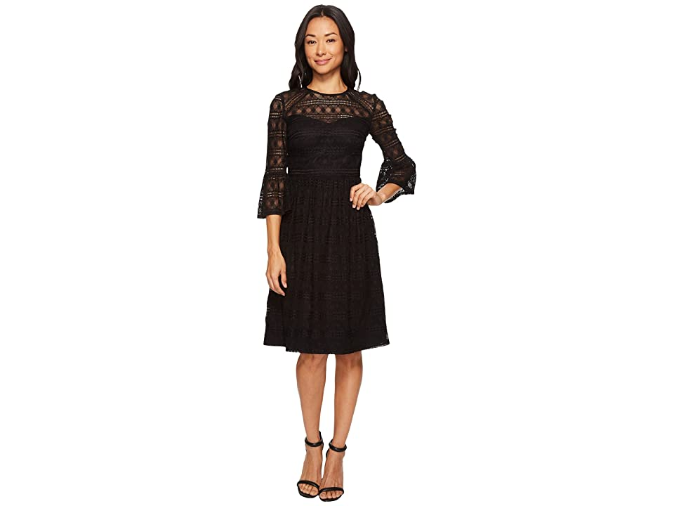 Trina Turk Everdine Dress (Black) Women