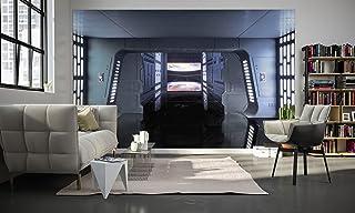 Komar 029-DVD4 fleece fototapet Wars Death Star Floor, storlek 400 x 250 cm (bredd x höjd), 4 våningar, inklusive lim, fär...