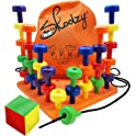 Skoolzy Peg Board Set - Montessori Toys