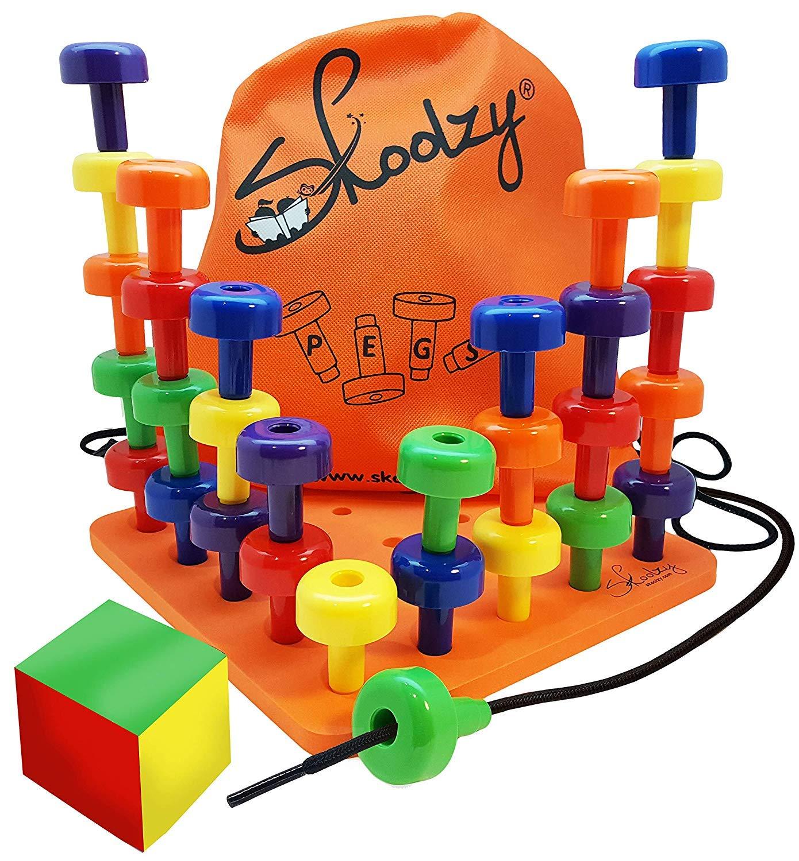 Skoolzy Peg Board Set Occupational