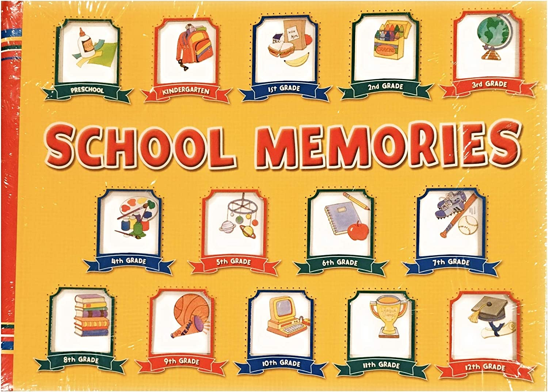 School Many popular brands Memories Album Yellow 10 Gra Max 88% OFF Pocketfuls Preschool-12 Book