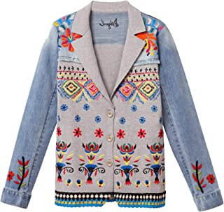Desigual Women's Jacket Blue Blue