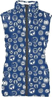 Rainbow Rules Avengers Infinity War Superhero Inspired Womens Puffer Vest Bodywarmer Gilet