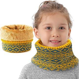 NovForth Winter Kids Neck Warmer, Fleece Neck Gaiter for Girls Boys, Children Scarf for Cold Weather