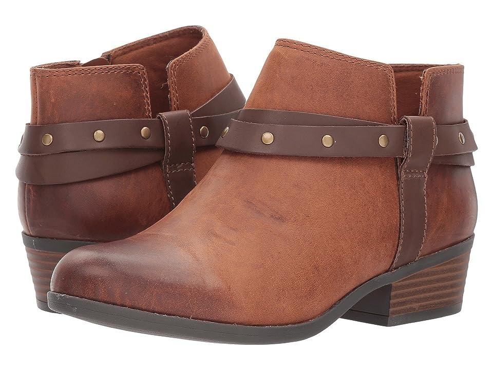 Clarks Addiy Zoie (Tan Leather) Women