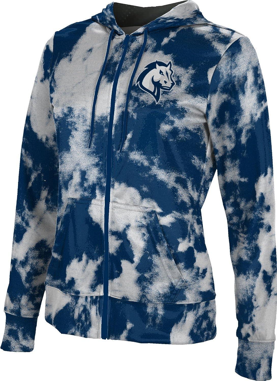 ProSphere Mercy College Girls' Zipper Hoodie, School Spirit Sweatshirt (Grunge)