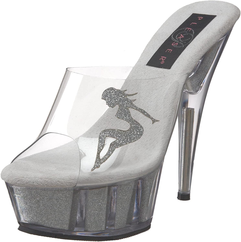 Pleaser Women's DELIGHT601-4 Platform Sandal