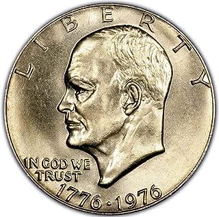 1776-1976 Eisenhower Bicentennial Dollar Coin