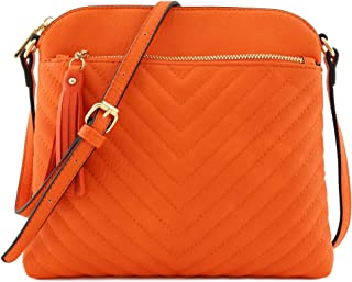 6fe8c0738efcb Amazon.com  Oranges - Crossbody Bags   Handbags   Wallets  Clothing ...