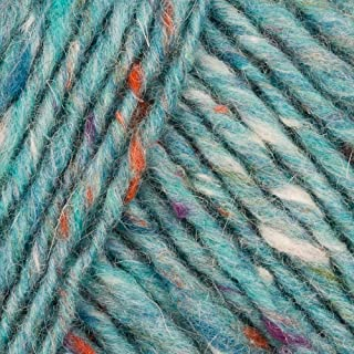 Debbie Bliss Donegal Luxury Tweed Aran 48 Aqua