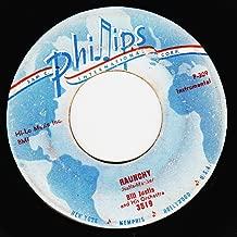 Bill Justis 45 RPM Raunchy / The Midnite Man