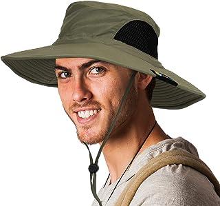 SUN CUBE Premium Boonie Hat with Wide Brim, Adjustable Chin Strap | Outdoor Hat for Fishing, Hiking, Safari, Travel | Summ...