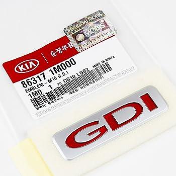 Kia Genuine OEM Emblem 2.4 GDI 86312-2T000
