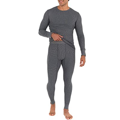 Fruit Of The Loom Recycled Waffle Thermal Underwear Set (Top and Bottom)
