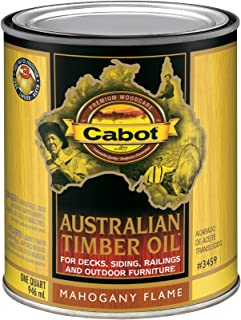 Best cabot stain australian timber oil mahogany flame Reviews