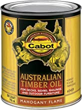 Best cabot australian timber oil mahogany flame Reviews