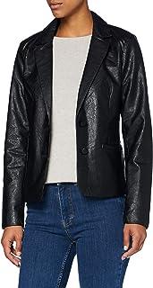 Only Onlalma Faux Leather Blazer Otw Mujer
