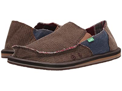 Sanuk Vagabond Mixer (Light Brown/Denim) Men