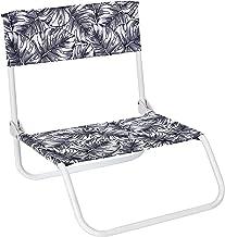 Home Deco Factory -HD7221 Home Deco Factory-HD7221 Strandstoel, inklapbaar, natuurlijk wild, zwart/wit