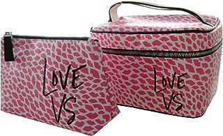 Victoria's Secret Beauty Travel Train Case Bag Duo