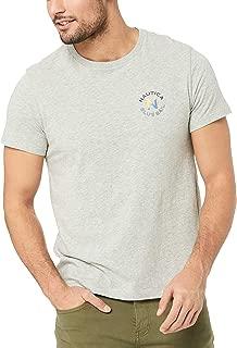 Nautica Men's EST 83 Graphic TEE Grey