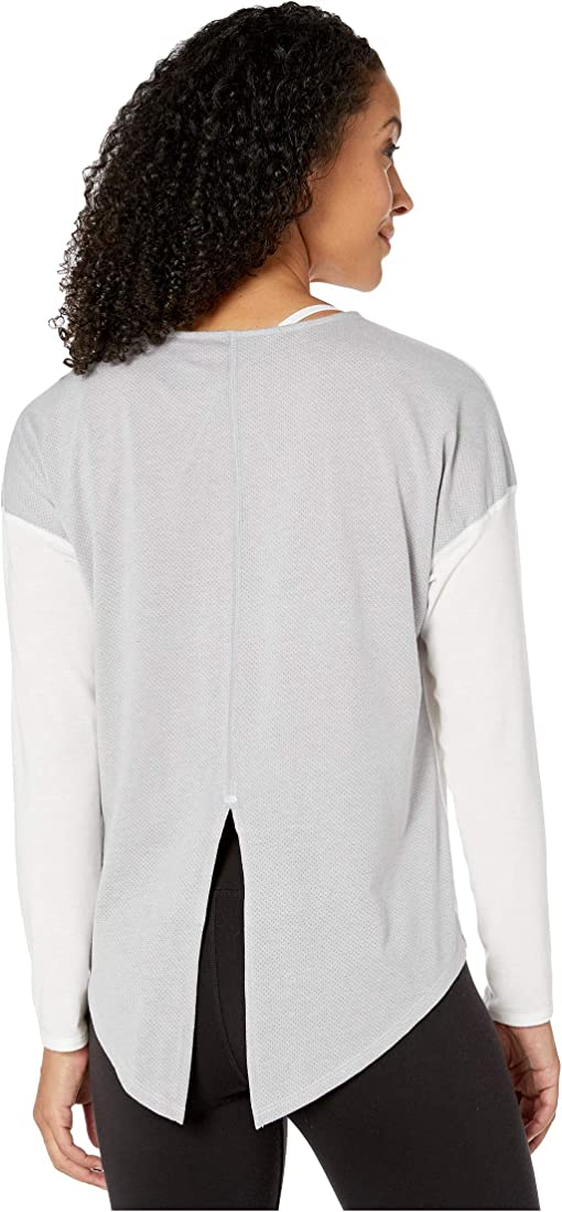 TNF White/TNF Light Grey Heather