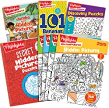 Highlights Hidden Pictures Activity Pack for Kids 6+ - 700 Stickers + 8 Books of Hidden Pictures