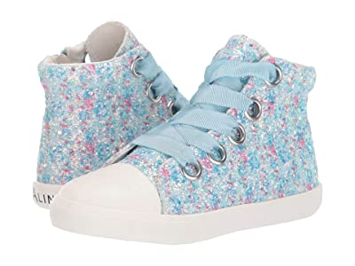 Amiana 6-A0920 (Toddler/Little Kid/Big Kid/Adult) (Blue Floral Glitter) Girl