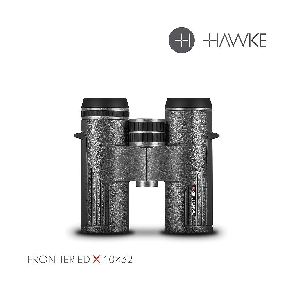 Hawke Sport Optics Frontier ED X 10x32 Binocular, Grey, 38408