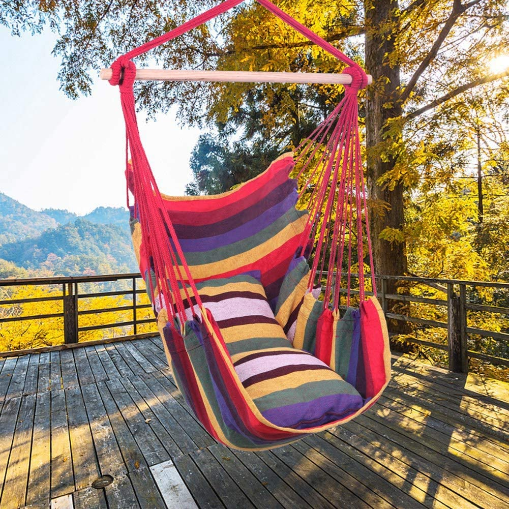 GOTOTOP Hammock Chair Hanging Special price for a limited time Very popular Rope with Swing