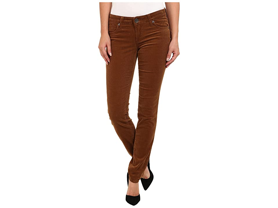 KUT from the Kloth Diana Cord Skinny Jean (Cognac) Women