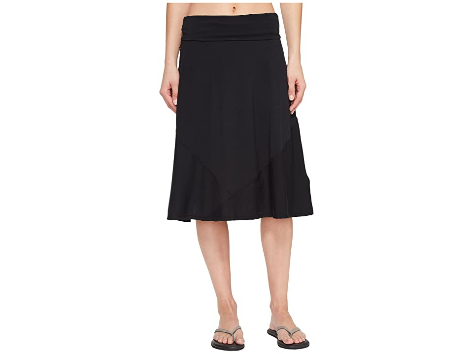 ExOfficio Wanderlux Convertible Skirt (Black) Women