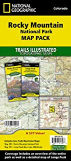 Rocky Mountain National Park, Map Pack Bundle: Trails Illustrated National Parks