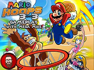 Mario Hoops 3 on 3 Gameplay With Mega Mike